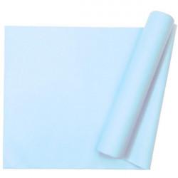 Chemin de table intissé bleu - 10 m Déco festive 331BE