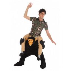 Déguisement homme à dos de chimpanzé taille unique Déguisements C4490