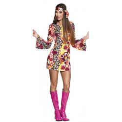 Déguisement hippie groovy femme Déguisements 83867-