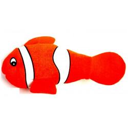 Peluche poisson clown 20 cm Jouets et kermesse 78358