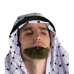 Barbe prince arabe Accessoires de fête 71675