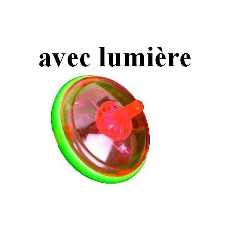 Toupie lumineuse 4.5 cm kermesse vendue par 24 Jouets et kermesse 81024-LOT