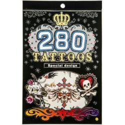 Tatouage temporaire enfant vendu par 16 Accessoires de fête 2246-LOT