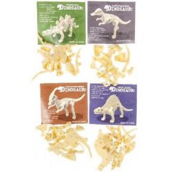 Squelette puzzle dinosaure 9 cm vendu par 36 Jouets et kermesse 9578-LOT