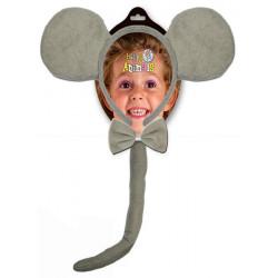Kit accessoires petite souris grise Accessoires de fête 70151