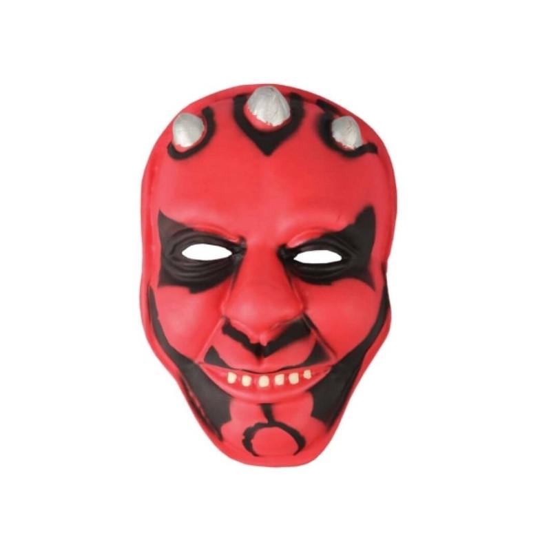 Masque plastique combattant de l'espace adulte Accessoires de fête 70461