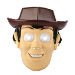 Masque plastique cowboy enfant Accessoires de fête 70609