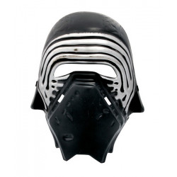 Masque noir de guerrier Accessoires de fête 72438