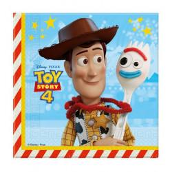 Serviettes 2 plis x 20 Toy Story 4™ 33 x 33 cm Déco festive LTOY90872