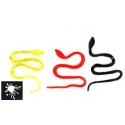 Serpent sticky 40 cm vendu par 48 Jouets et articles kermesse 10624-LOT