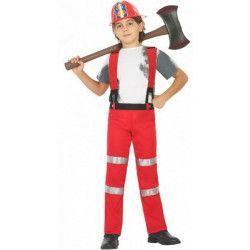 Déguisement pompier rouge garçon 7-9 ans Déguisements 20435
