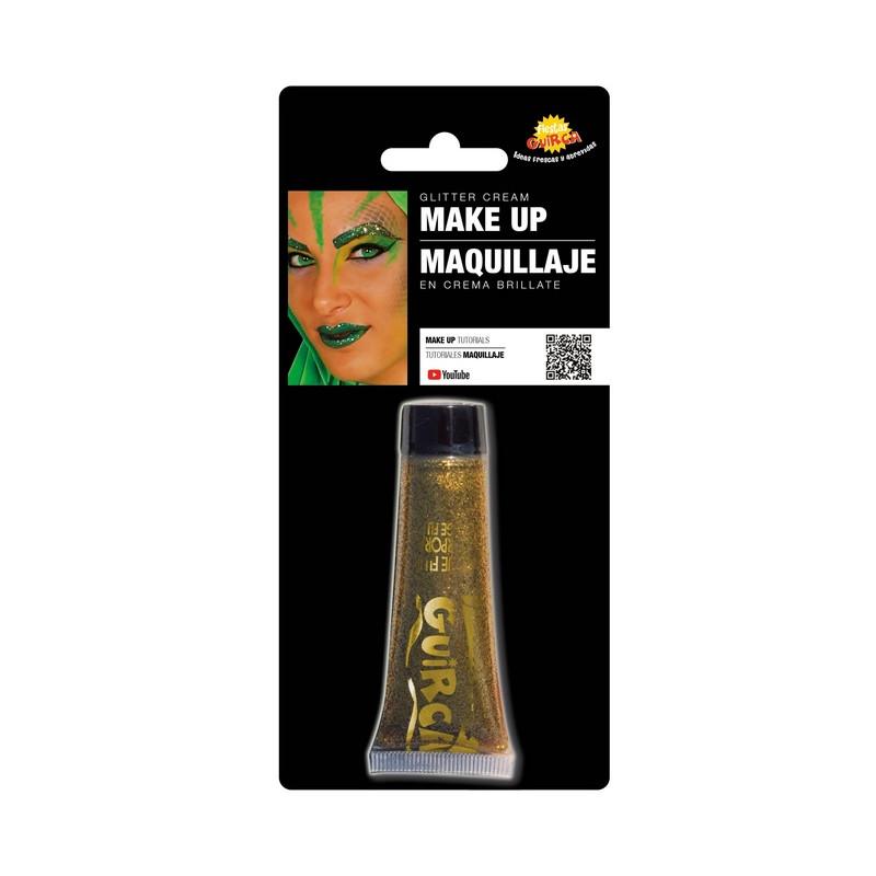 Maquillage crème pailletée or Accessoires de fête 15453