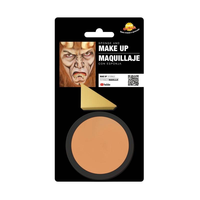 Maquillage couleur chair avec éponge Accessoires de fête 15626GUIRCA