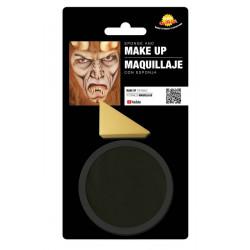 Maquillage noir avec éponge Accessoires de fête 15628GUIRCA