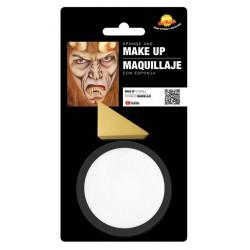 Maquillage blanc avec éponge Accessoires de fête 15629