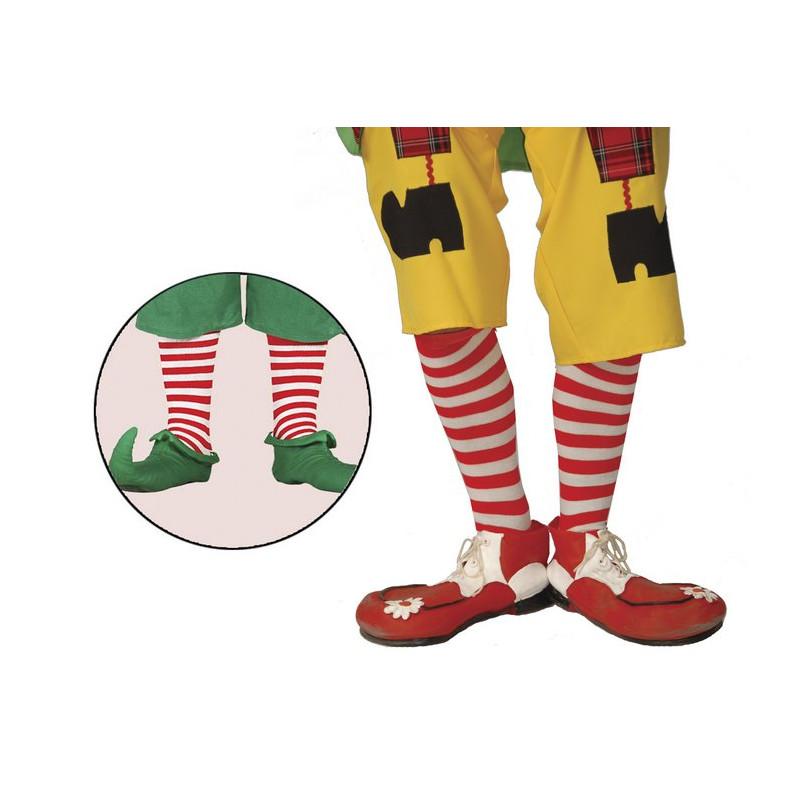 Chaussettes de clown enfant Accessoires de fête 16370