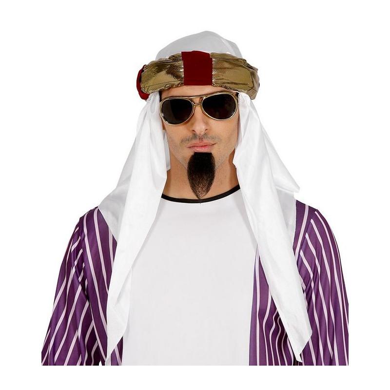 Coiffe orientale prince du désert Accessoires de fête 18116GUIRCA