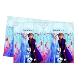 Nappe plastique Frozen 2™ 120 x 180 cm Déco festive LFRZ91129