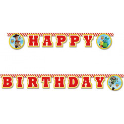 Guirlande Happy Birthday Toy Story 4™ Déco festive LTOY90876