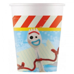 Gobelets carton x 8 Toy Story 4™ 20 cl Déco festive LTOY90871