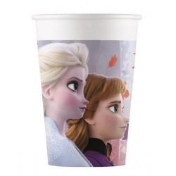 Gobelets carton x 8 Frozen 2™ 20 cl Déco festive LFRZ91127