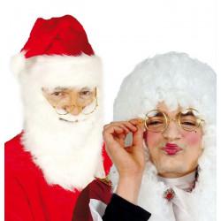 Lunettes père Noël ou juge Accessoires de fête 16212