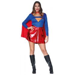 Déguisement supergirl femme taille M-L Déguisements 80741