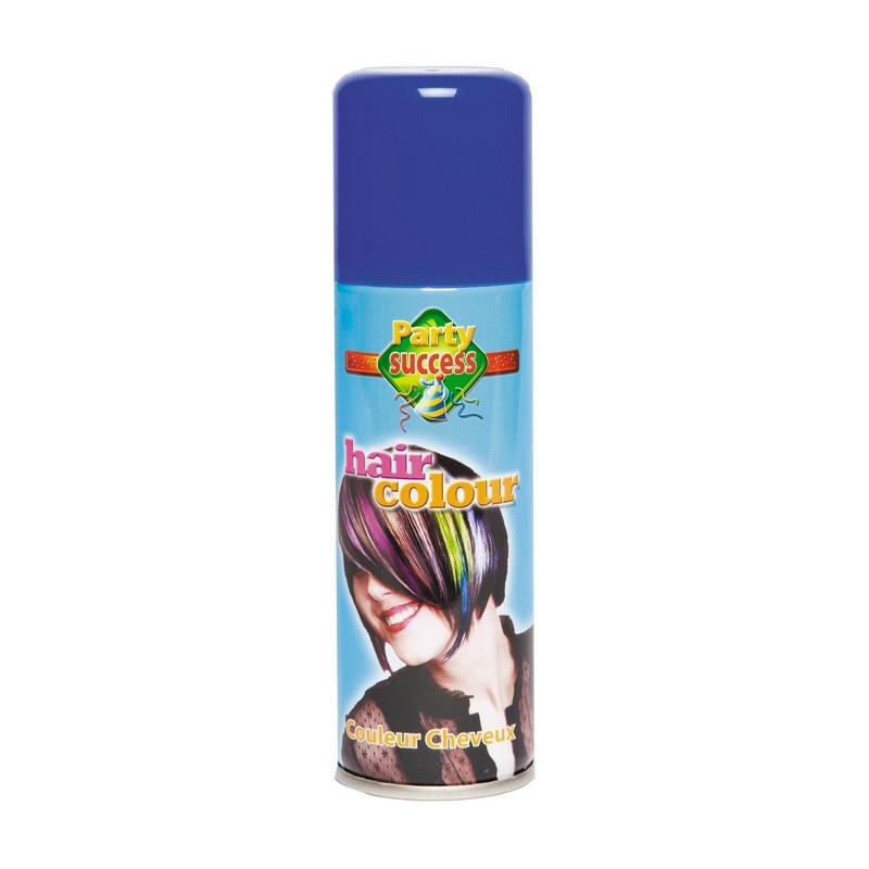 Bombe cheveux bleus 125 ml Accessoires de fête 102357