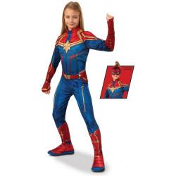 Déguisement classique Captain Marvel™ fille Déguisements I-700594-