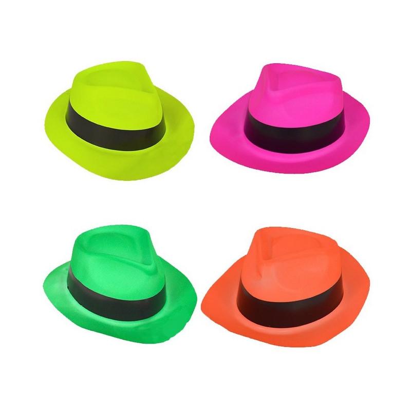 Chapeau fluo néon enfant Accessoires de fête 9039LG