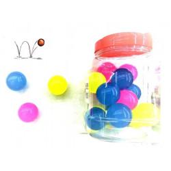 Balles magiques rebondissantes 43 mm vendues par 24 Jouets et articles kermesse 22344