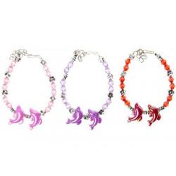 Bracelet dauphins vendu par 72 Jouets et kermesse 0412-LOT