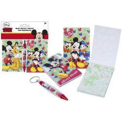 Blocs notes Mickey avec stylo bille Jouets et kermesse 2050179