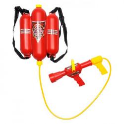 Extincteur fusil à eau pompier rouge Jouets et articles kermesse 4198