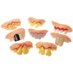 Dentier fausses dents pourries vendu par 36 Accessoires de fête 4315-LOT