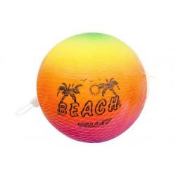 Ballon beach volley 23 cm dans un filet Jouets et articles kermesse 4810