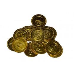 Sachet 100 pièces d'or chasse au trésor pirate Jouets et kermesse 2798