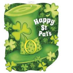 Découpe décoration chapeau Saint Patrick Déco festive U47920