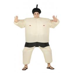 Déguisement sumo gonflable homme taille L Déguisements 88209