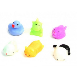 Animal antistress 4/5 cm vendu par 48 Jouets et articles kermesse 10549-LOT