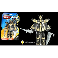 Figurine robot articulé et lumineux 19 cm Jouets et articles kermesse 21323