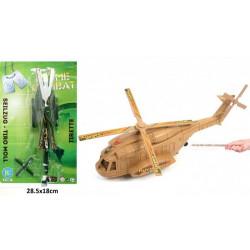 Hélicoptère 20 cm avec tirette Jouets et articles kermesse 43981