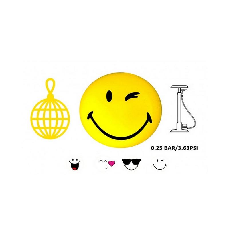 Ballon PVC smiley 23 cm Jouets et articles kermesse 88579