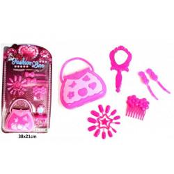 Blister Beauté sac à main 6 accessoires Jouets et articles kermesse 32152BG