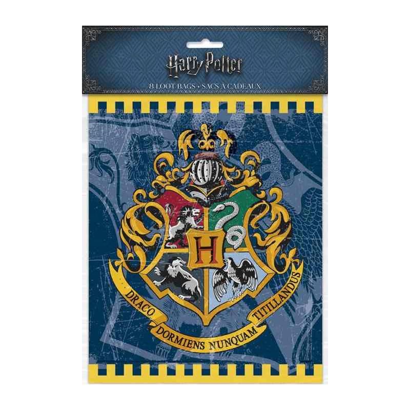 Sacs anniversaire x 8 Harry Potter™ Déco festive U59113