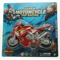 Moto de course 17 cm Jouets et kermesse 12554