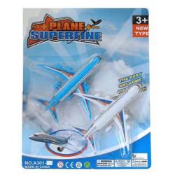 Blister 2 avions de ligne 14 cm Jouets et articles kermesse 13414
