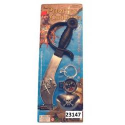 Panoplie pirate avec sabre Jouets et articles kermesse 23147