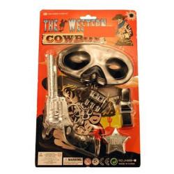 Blister accessoires cowboy Jouets et articles kermesse 24144