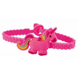 Bracelet licorne vendu par 12 Jouets et articles kermesse 61460-LOT